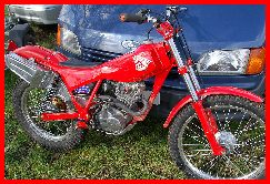 Classic Trial modified Honda TLR200