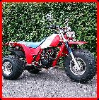 ClassicTrial picture,  Honda ATC200X trike, click to enlarge click pop-up to close.