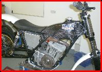 ClassicTrial picture,  Steve Martin's 340 Fantic during build, click to enlarge click pop-up to close.